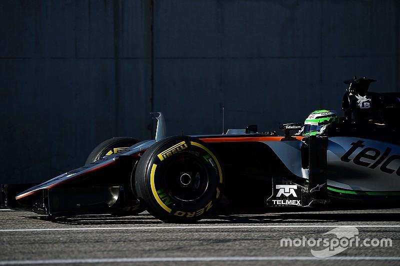 Hülkenberg nach Startcrash mit Vettel: