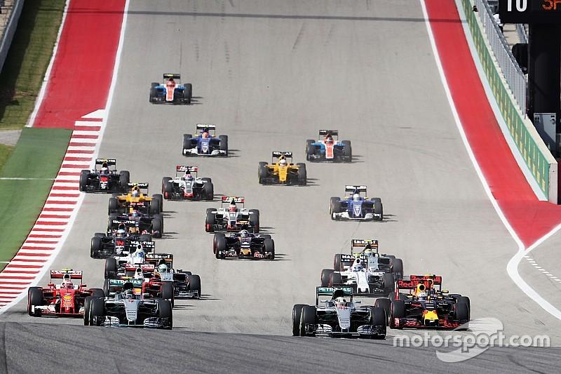 F1アメリカGP決勝:ハミルトンが好スタートを切りポールトゥウィン、6戦ぶりの勝利