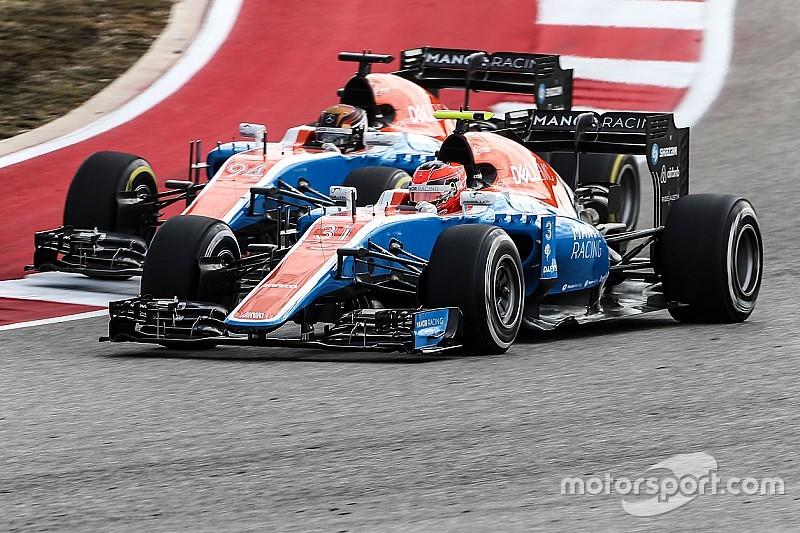Manor-Renndirektor: Kein Problem, wenn 2017 beide Fahrer gehen
