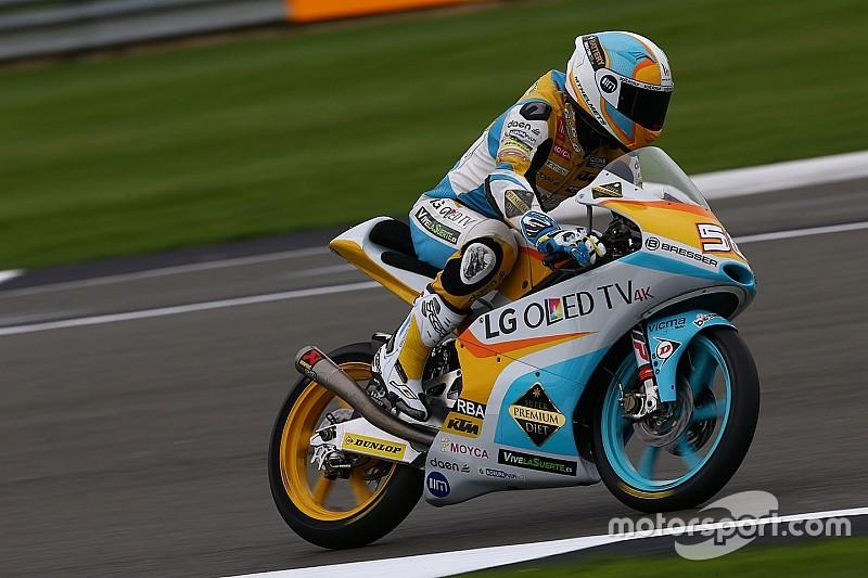 【Moto3バレンシア】FP1:ついに最終戦開幕。Bビンダーを抑えゲバラがトップタイム