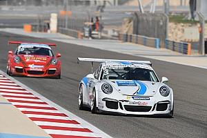 بورشه جي تي 3 الشرق الأوسط تقرير السباق ريان كولين يُحرز الفوز بفارق 0.035 ثانية في السباق الافتتاحي على حلبة البحرين