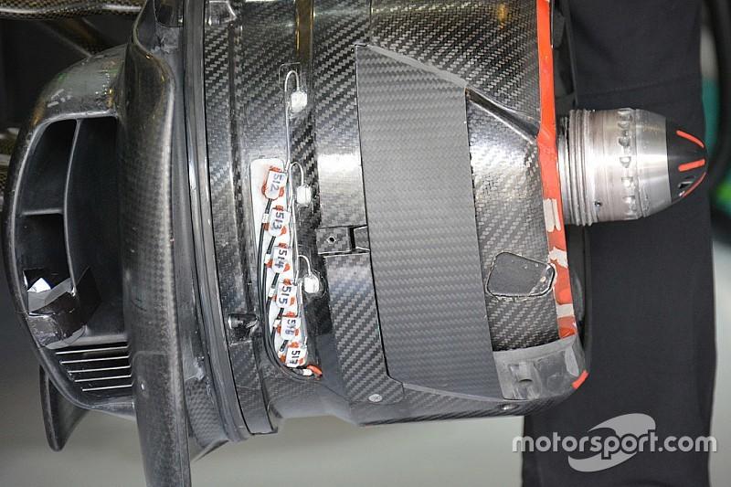 Технический брифинг: охлаждение передних тормозов McLaren