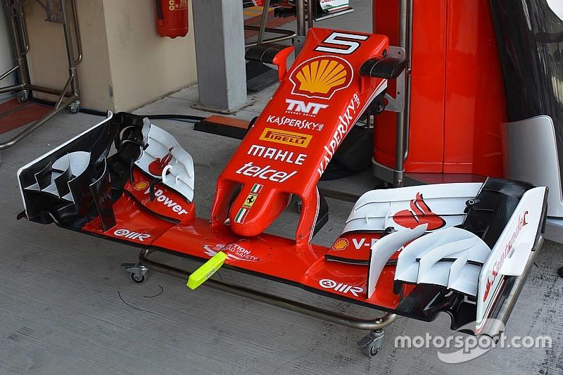 Технический брифинг: Ferrari и дополнительные данные