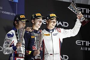GP2 Relato da corrida Gasly vence primeira em Abu Dhabi e vira sobre Giovinazzi