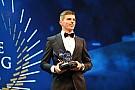 Geral Verstappen recebe dois prêmios da FIA em noite de gala