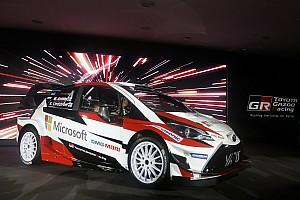 WRC Son dakika Toyota 2017 Yaris WRC'yi tanıttı ve Latvala'yı duyurdu