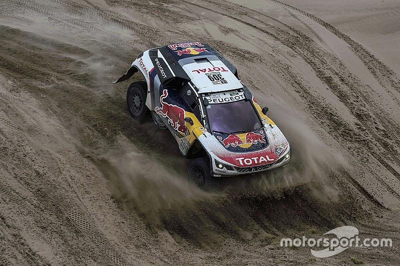 Dakar 2017: Loeb wint etappe en herovert leiding, Van Loon op achterstand