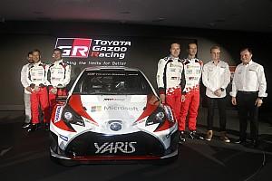 【WRC】トヨタ、復帰初戦の目標は「完走してマイレージ稼ぐこと」