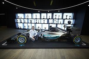 Боттас в Mercedes. Первые фото