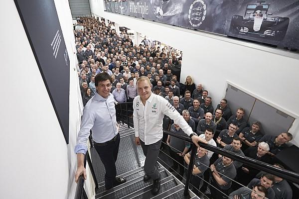 Formule 1 Actualités Mercedes - Bottas en 2017, des