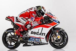 In beeld: Jorge Lorenzo met de Ducati Desmosedici GP17