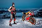 MotoGP Galería: así fue la 'aventura' de Márquez en la nieve