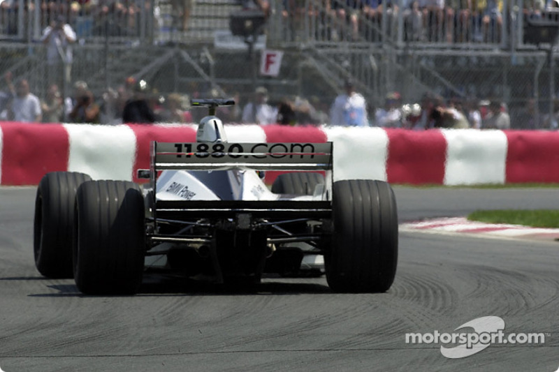 On Circuit Gilles-Villeneuve, a lot of power is required
