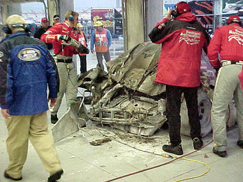 #21 after crash