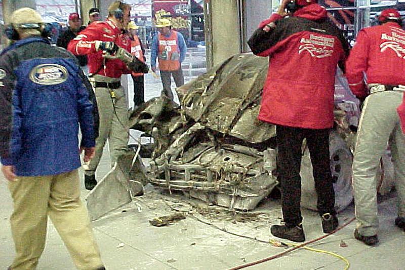 #21 after crash