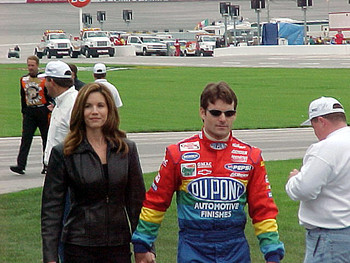 Brook and Jeff Gordon