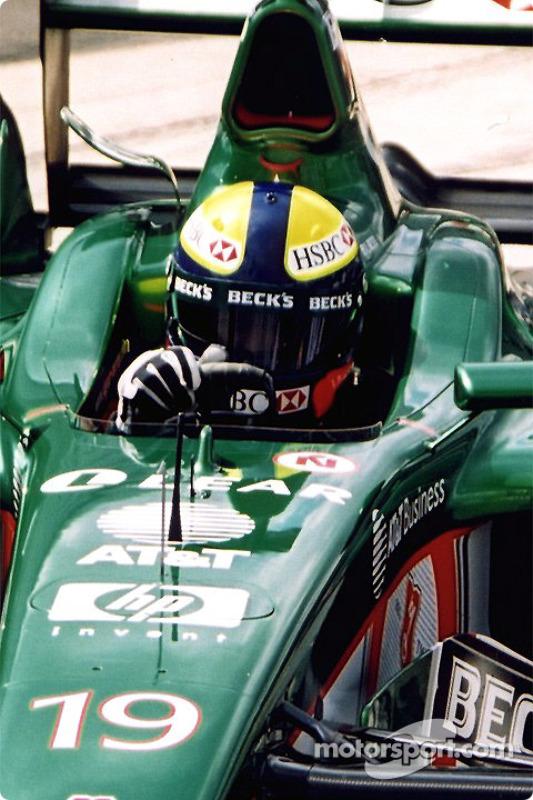 Luciano Burti in the pits