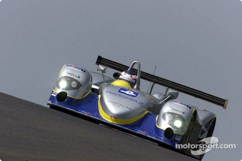 Yannick Dalmas in the Chrysler LMP