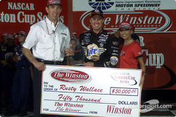 Rusty Wallace pole winner for The Winston.