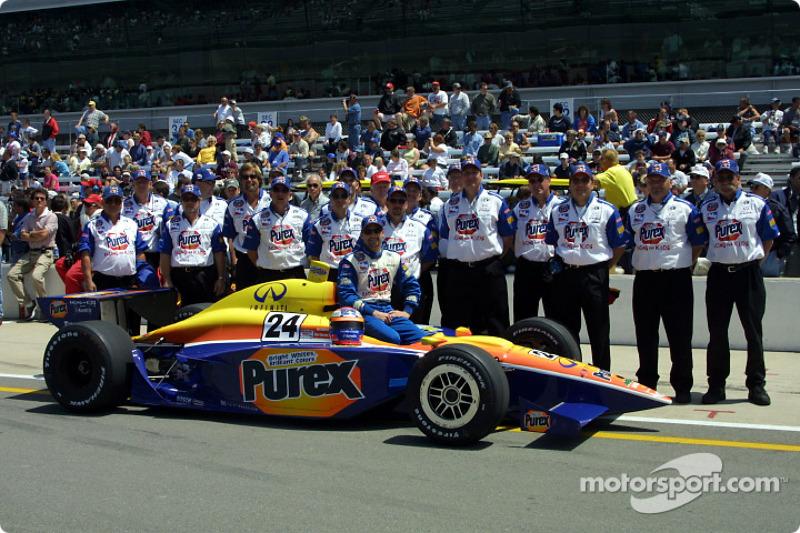 Robbie Buhl and Dreyer-Reinbold Racing