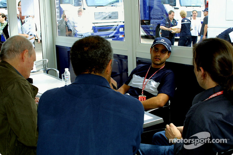 An interview with Juan Pablo Montoya