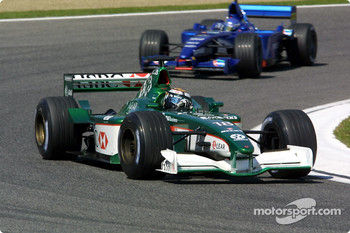 Eddie Irvine and Jean Alesi