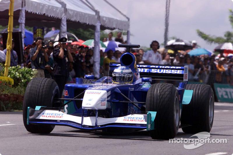 Sauber Petronas team in Johor Bahru