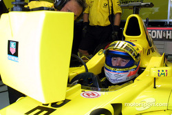 Jarno Trulli during the warmup