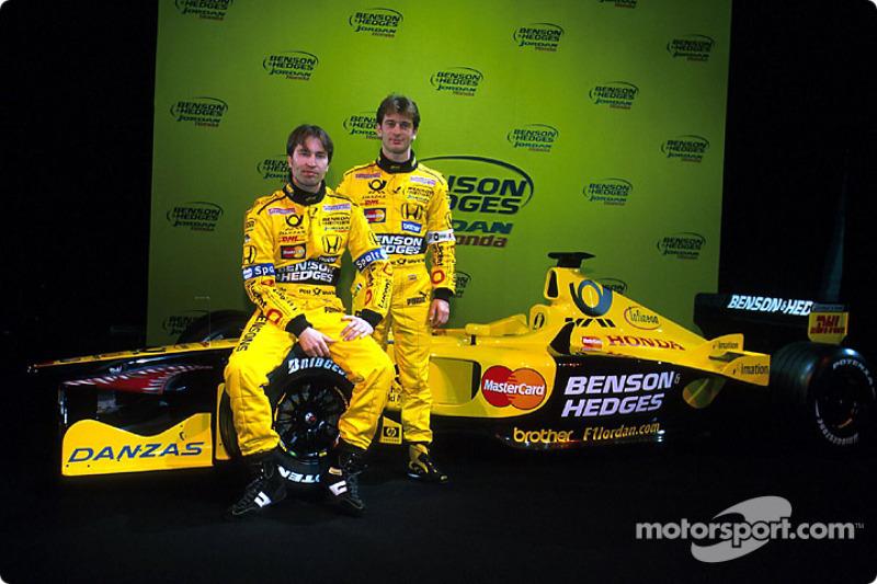 Heinz-Harald Frentzen and Jarno Trulli