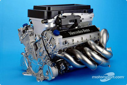 The heart: Mercedes-Benz F0 110K V10