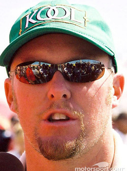 Paul Tracy is happy with his effort to take third in the race.