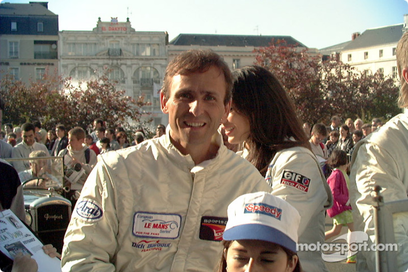 Barber Racing's driver David Murry
