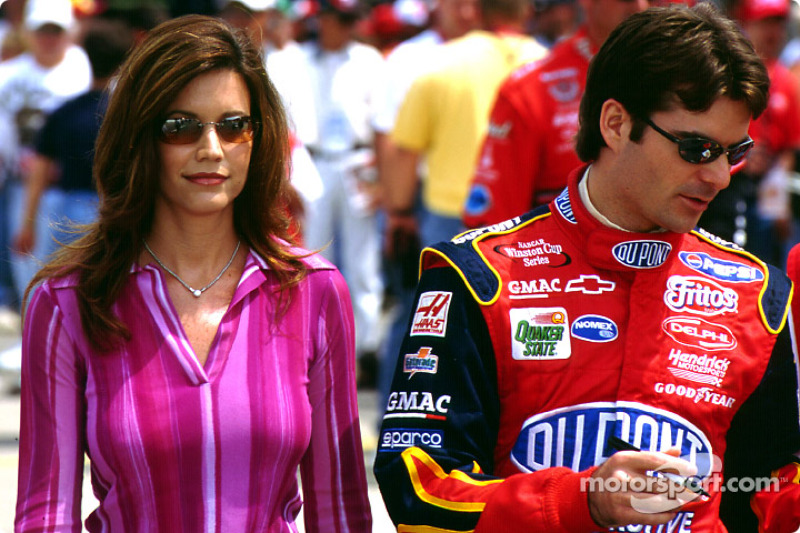 Brooke and Jeff Gordon