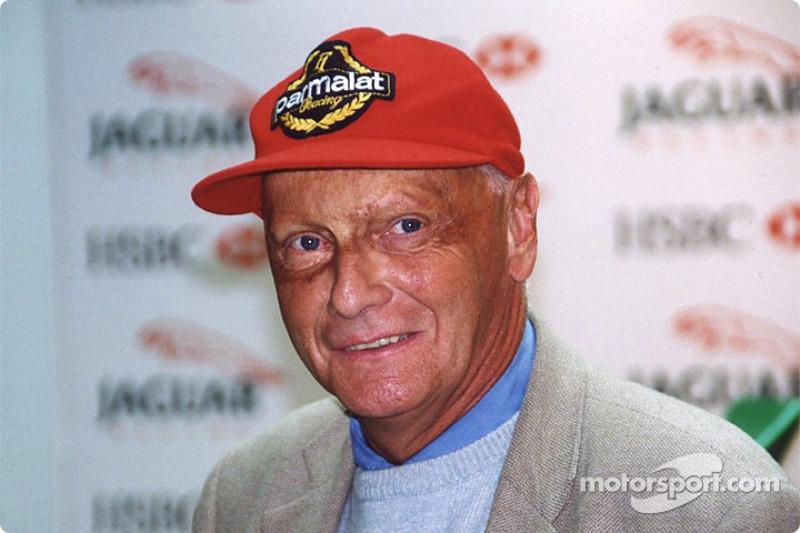 Jaguar Racing and HSBC renew sponsorship: Niki Lauda