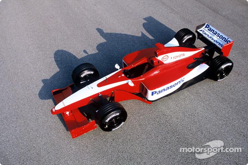 The Toyota F1 test car
