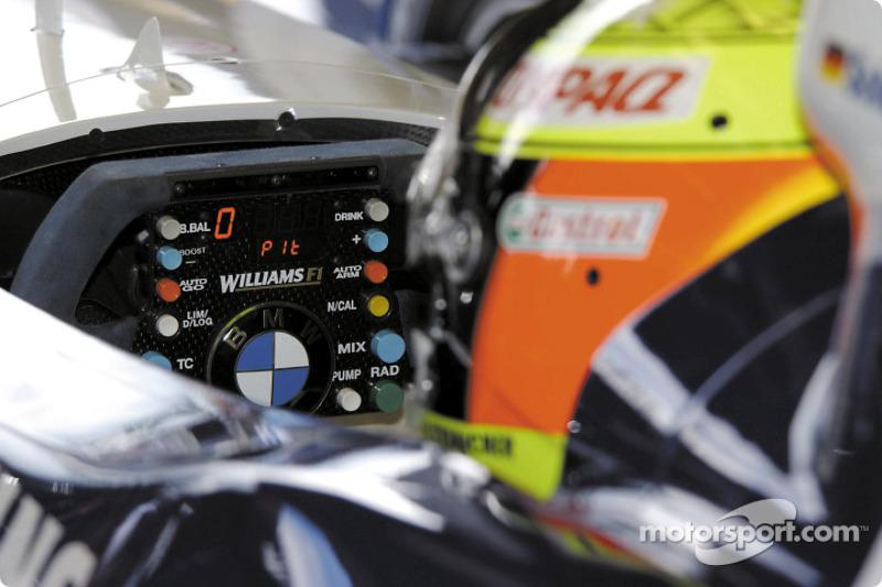 Ralf Schumacher in his office