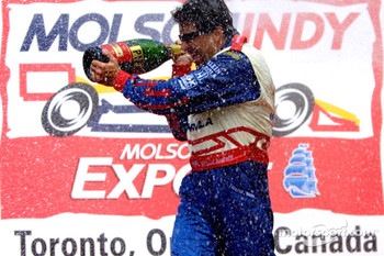 Champagne for Michael Andretti