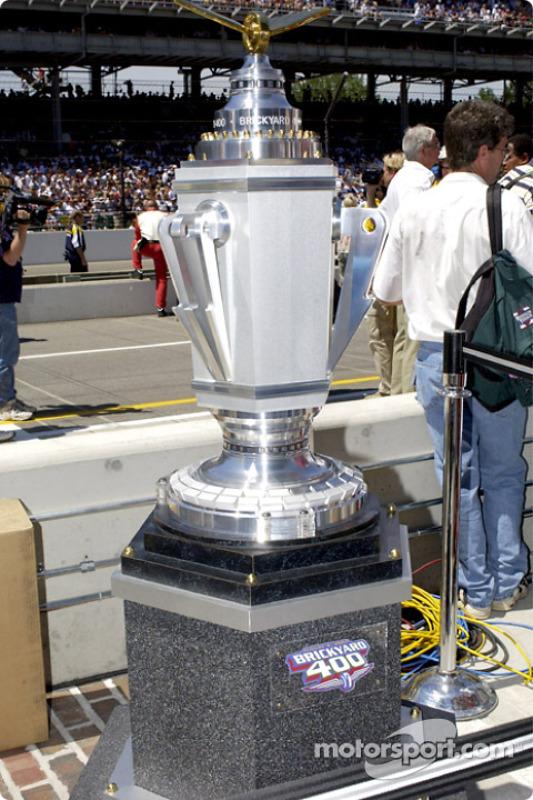 The Brickyard 400 Trophy