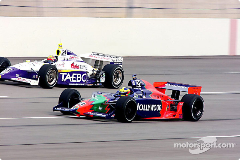 Felipe Giaffone and Buddy Lazier