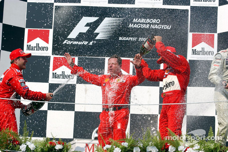 Champagne for Jean Todt