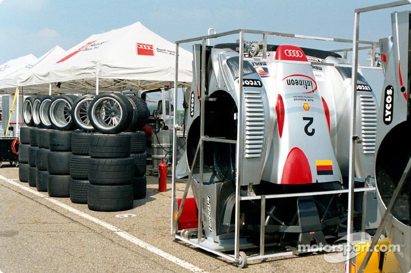 Race ready Audi Team