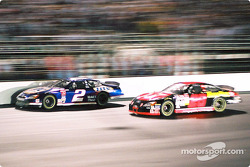 The fight between Rusty Wallace and Ricky Rudd