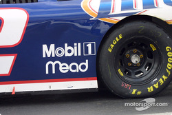 Detail of Rusty Wallace's car