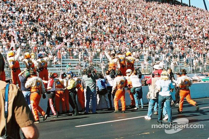 PPI Motorsports crew celebrating