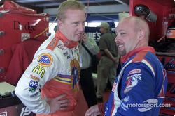 Ricky Craven and Todd Bodine