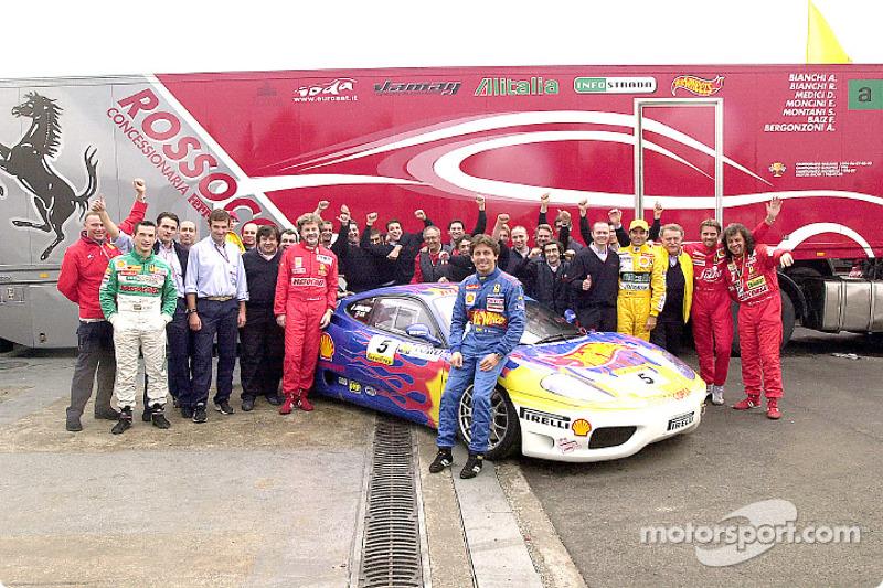 The Rosso Corsa Team