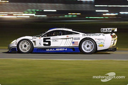 Fordahl Motorsports' Saleen S7R during night practice