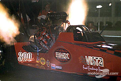 Louie Allison qualified fifth in Top Fuel