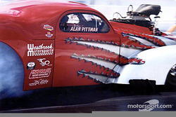 Alan Pittman made it to the Pro Mod final
