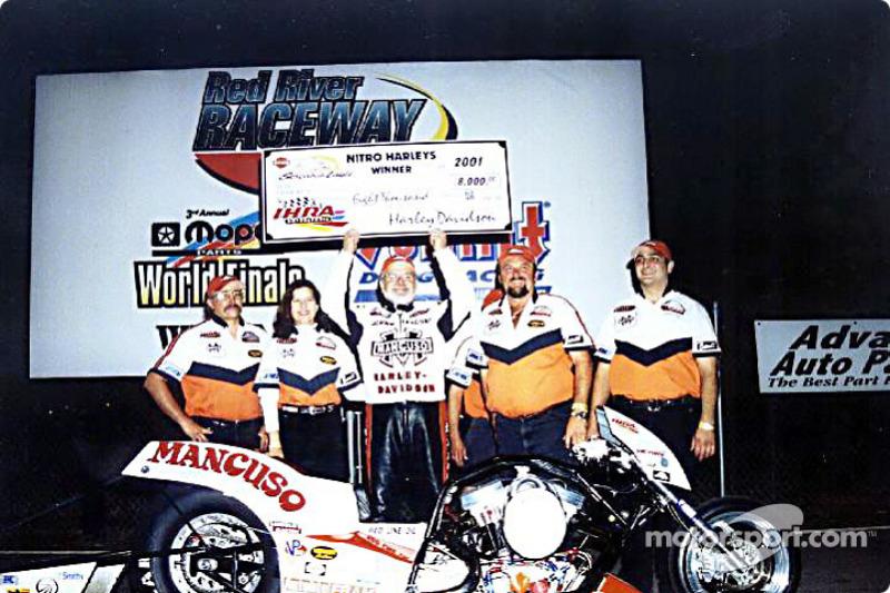 Johnny Mancuso won Saturday's $20,000 Shootout